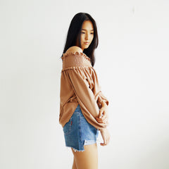 Won-Joel off shoulder top