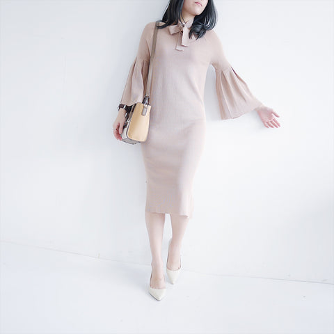 Amendab flare sleeve dress