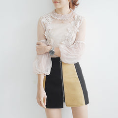 The Flarey Lace Top