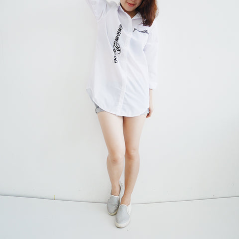 Cast casual long shirt