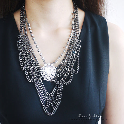 Inspired Zara Statement Necklace