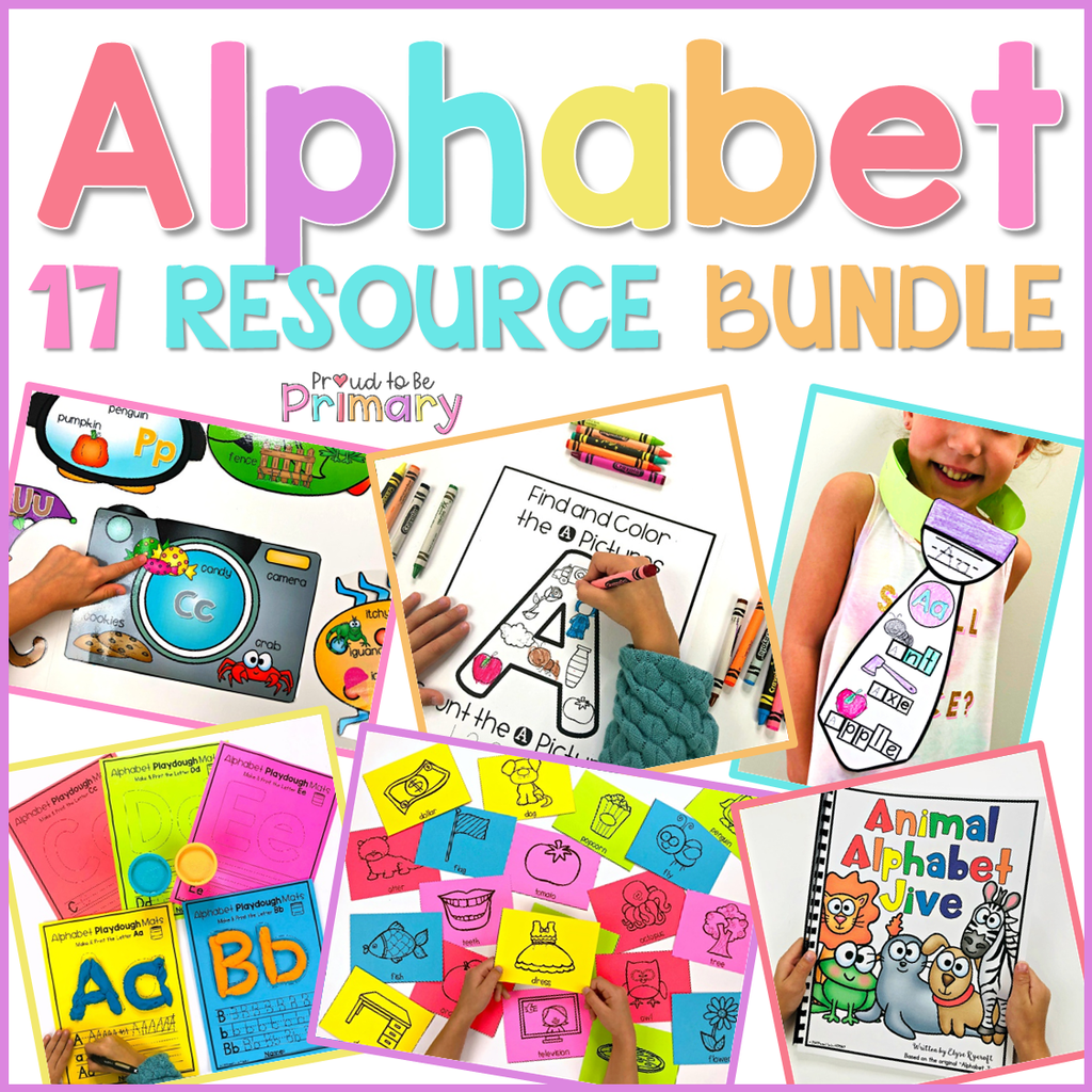 Alphabet Activities - HUGE Bundle of 17 Resources - Proud to be Primary