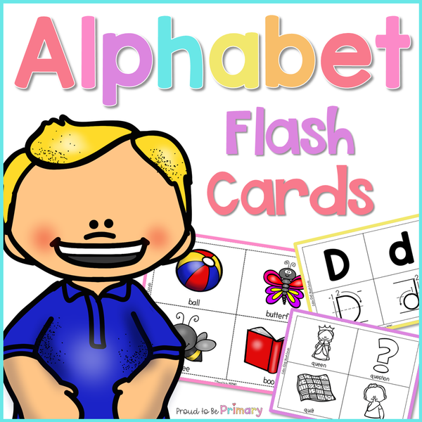Alphabet Flash Cards - Proud to be Primary