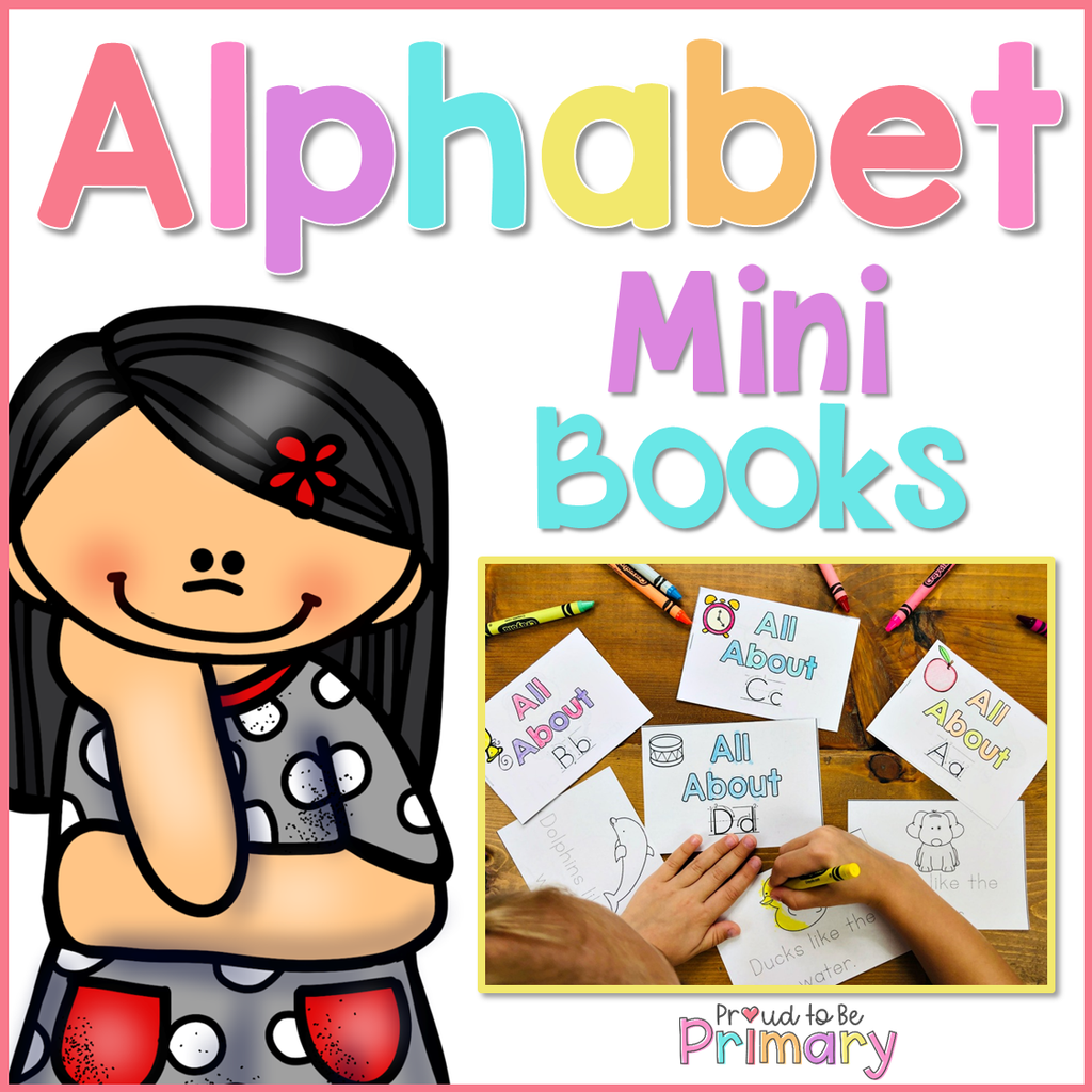 Alphabet Mini Story Books - Proud to be Primary