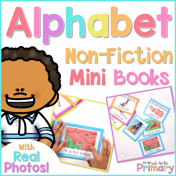 Alphabet Non-Fiction Mini Story Books - Proud to be Primary