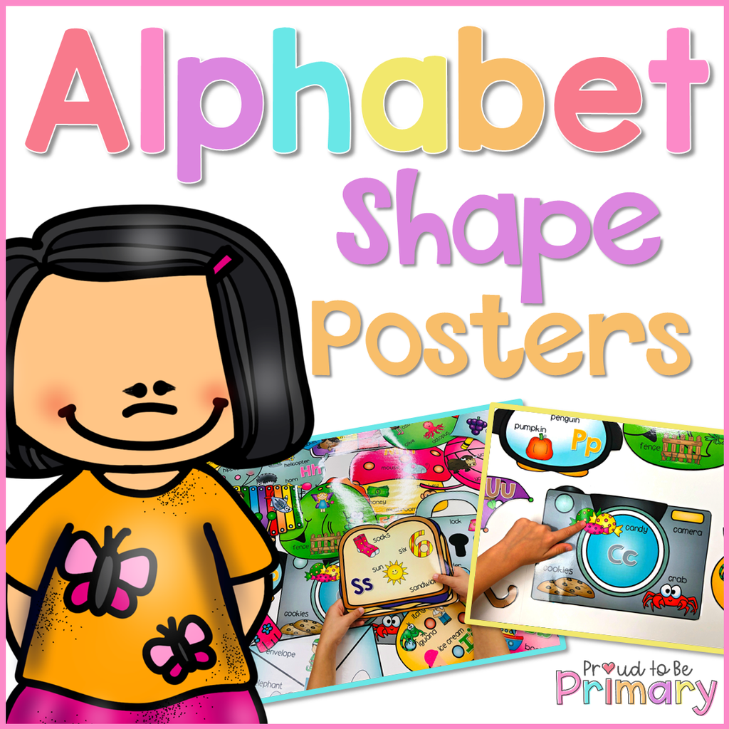 Alphabet Shape Sound Posters - Proud to be Primary