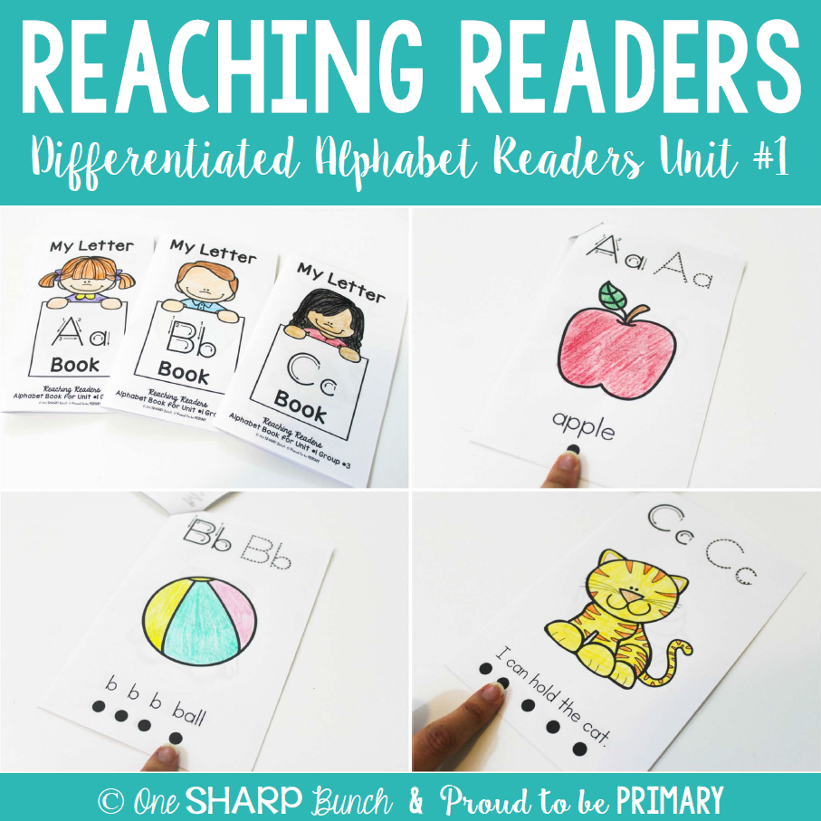 Guided Reading Alphabet Readers - Proud to be Primary