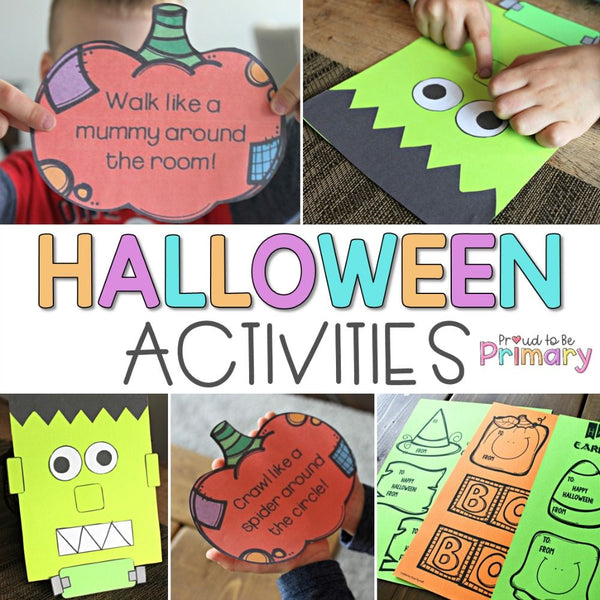 Halloween Activities - Proud to be Primary