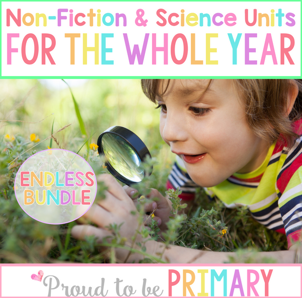 Non-Fiction & Life Science Units Bundle - Proud to be Primary