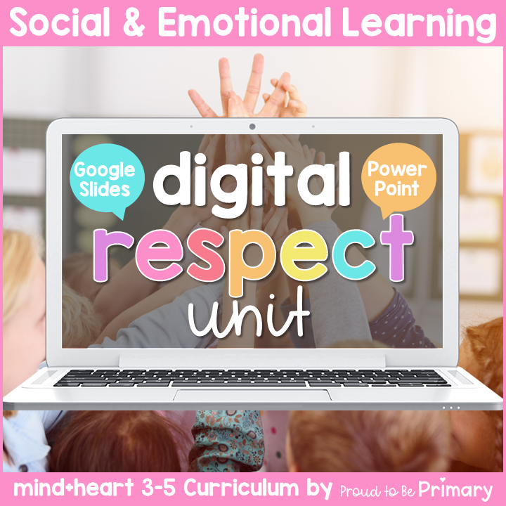 DIGITAL Respect Lessons and Activities for Grades 3-5