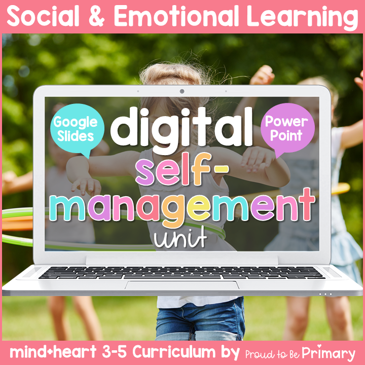 Mindfulness & Self-Management DIGITAL Grades 3-5 Google & PowerPoint Activities