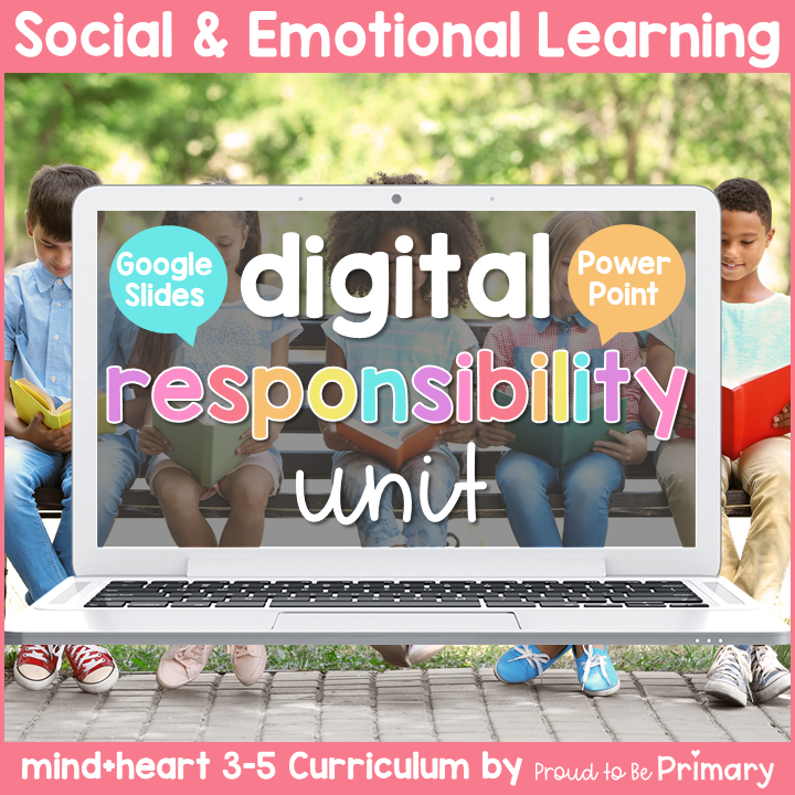 DIGITAL Responsibility Lessons and Activities for Grades 3-5