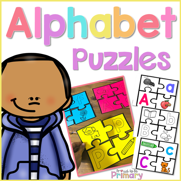 Alphabet Puzzles - Proud to be Primary