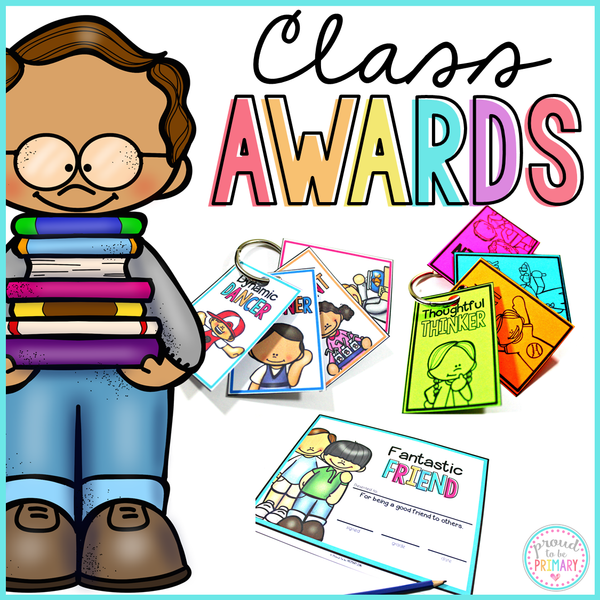 Student Certificate Awards & Reward Tags EDITABLE - Proud to be Primary