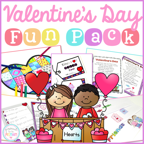 Valentine's Day Activities - Proud to be Primary