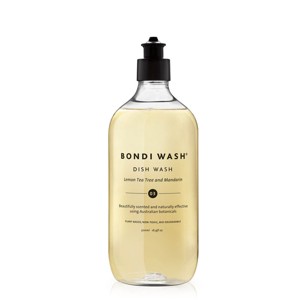 100% botanically derived dish wash