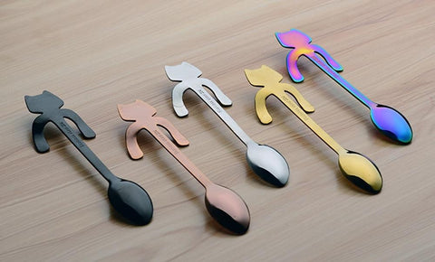 Cat Coffee Spoons - Home & Kitchen Gear