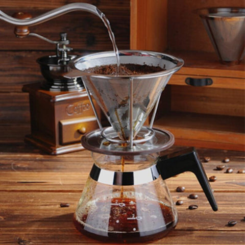 Stainless Steel Coffee Filter - Home & Kitchen Gear