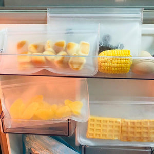 Reusable Silicone Food Storage Bags - Home & Kitchen Gear