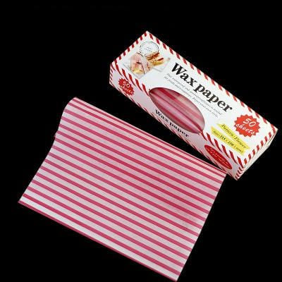 Image of Fancy Wax Paper Wraps - Home & Kitchen Gear