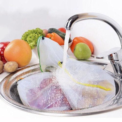 Image of Reusable Mesh Produce Bags - Home & Kitchen Gear