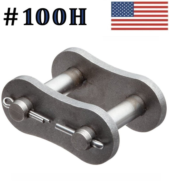 #100H Connecting Link ( 5 pack) #100 Heavy roller chain 1 1/4