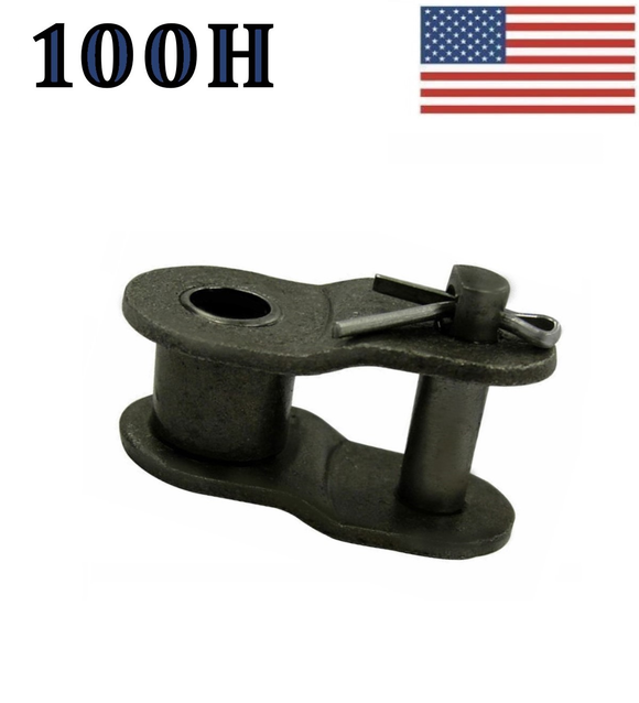 #100H Offset Link (5 pack) for #100 Heavy roller chain 1 1/4
