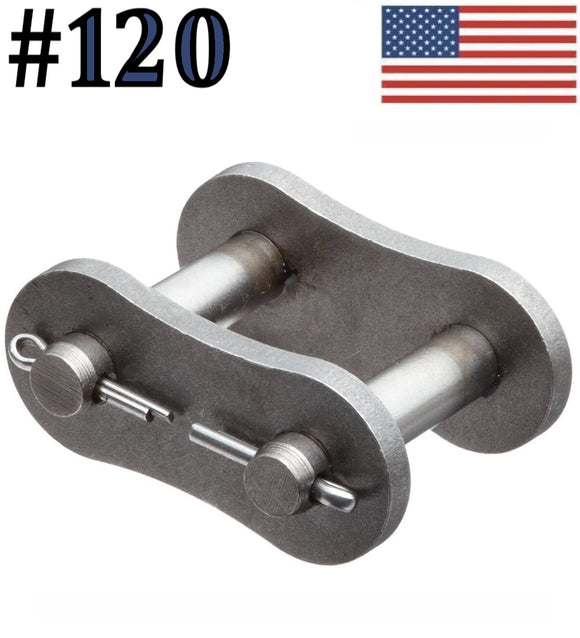 #120 Connecting Master Link for #120 Roller Chain (Pack Of 4)