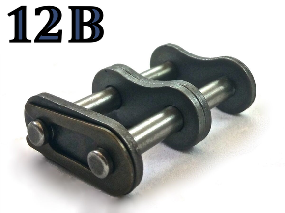 12B-2 DOUBLE ROLLER CHAIN MASTER CONNECTING LINK *PACK OF 5* SAME DAY SHIPPING