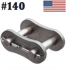 #140 Connecting Master Link for #140 Roller Chain (Pack Of 2)