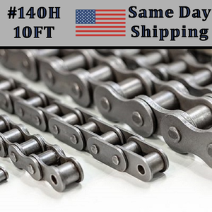 #140 Heavy Duty Roller Chain 10FT