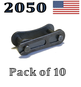 "A2050 Connecting Master Link (10 pack) #2050 Conveyor roller chain 1 1/4"" Pitch"