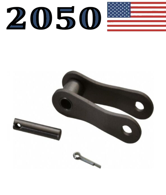 A2050 Connecting Offset Link(10 pack) #2050 Conveyor roller chain 1 1/4