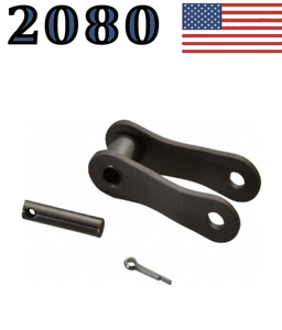 "A2080 Offset Link (4 pack) 2080 Conveyor Roller Chain 2"" Pitch Master"