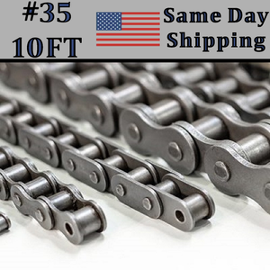 #35 Single Strand Roller Chain 10FT