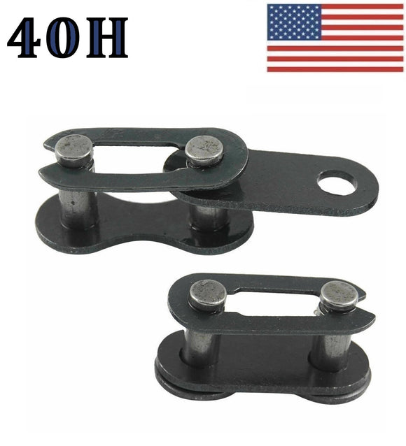 #40H Connecting Link (4 pack) for #40 Heavy roller chain 1/2
