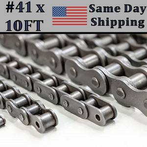 #41 Roller Single Strand Roller Chain 10FT