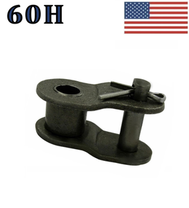 "#60H Offset Link (10 pack) for #60 Heavy roller chain 3/4"" Pitch"