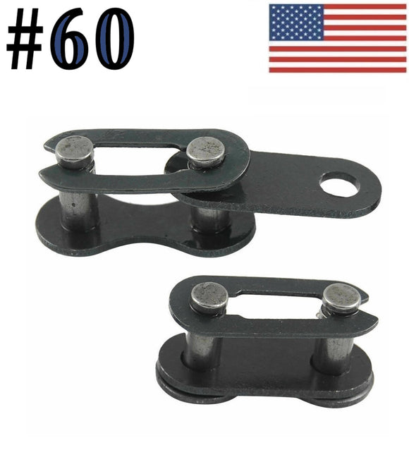 #60 Connecting Master Link for #60 Roller Chain (Pack Of 10)