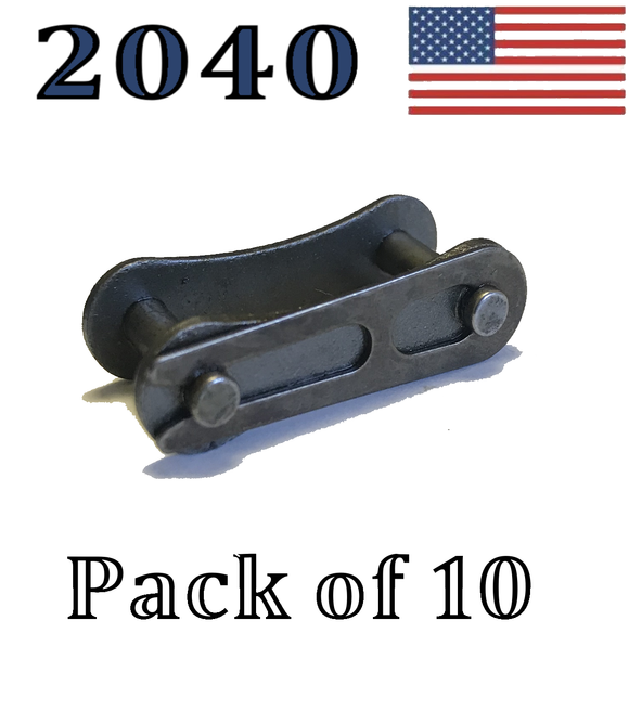 A2040 Connecting Master Link (10 pack) for #A2040 Conveyor roller chain 1