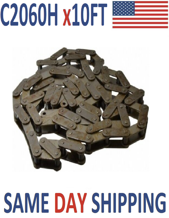 #C2060H Heavy Duty Conveyor Roller Chain 10FT