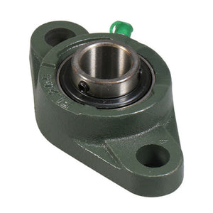 "UCFL206-18 1 1/8"" Bore - 2 Bolt Flange Block Mounted Bearing Unit"