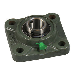 "UCF206-19 1 3/16"" Bore - 4 Bolt Flange Block Mounted Bearing Unit"