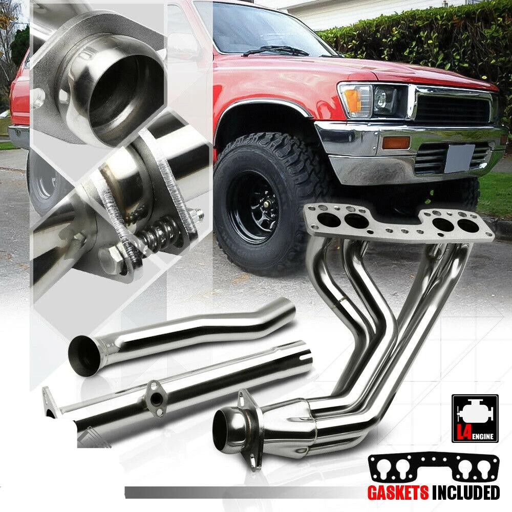 Stainless Steel Exhaust Header Manifold for 98-06 BMW E46 3-Series 2.5//2.8 6Cyl