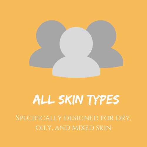 all skin types dry oily