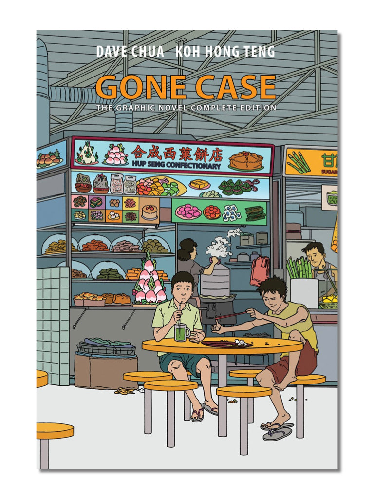 Gone Case The Graphic Novel Complete Edition