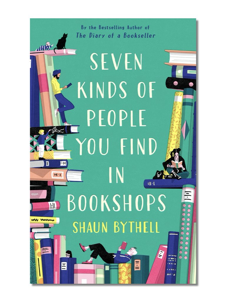 Seven Kinds Of People You Find In Bookshops