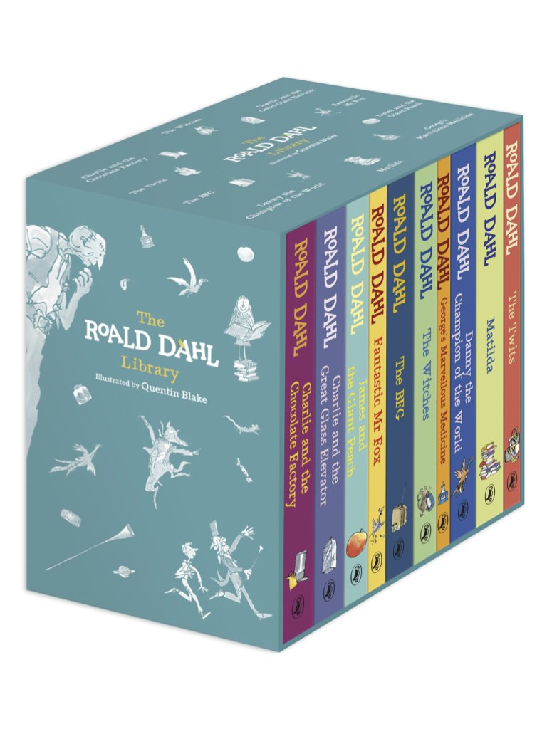 The Roald Dahl Library