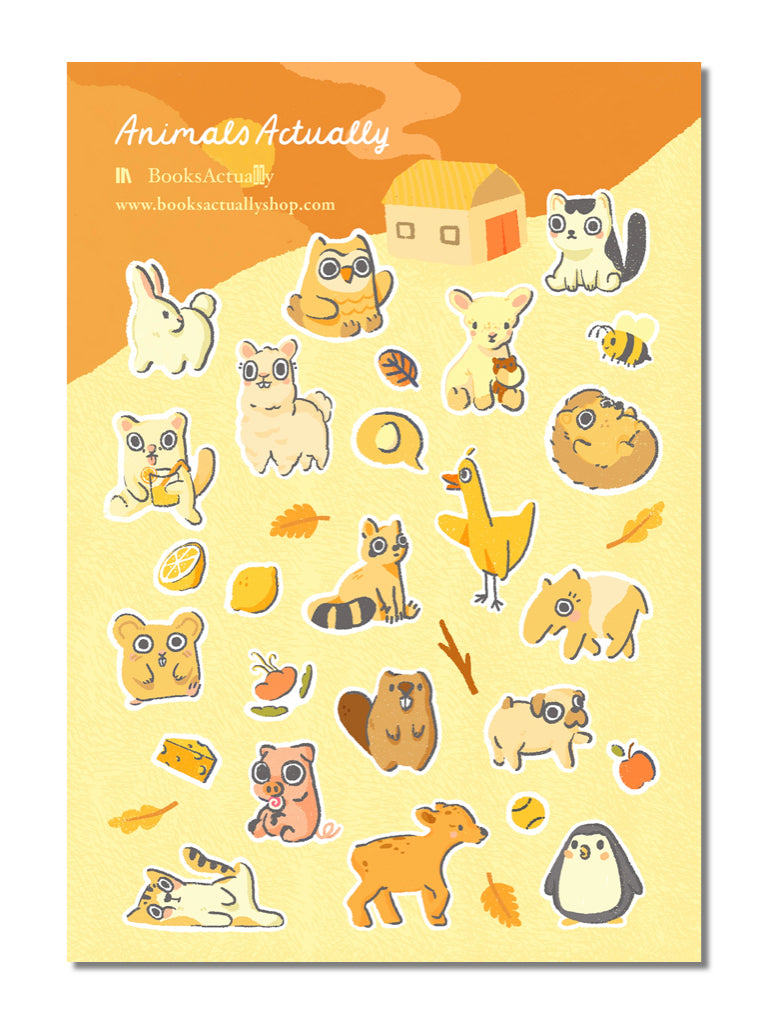 AnimalsActually Stickers