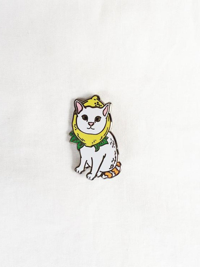 BooksActually Lemon Pin